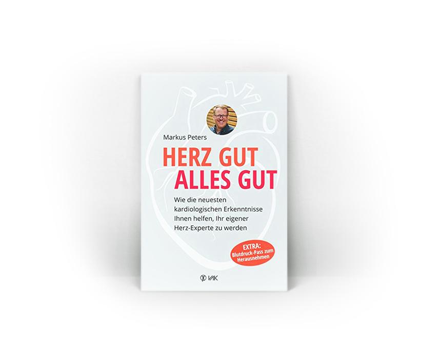 """Buch """"Herz gut alles gut"""", Markus Peters"""